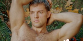Nude male cyclist for extremely hairy gay lovers