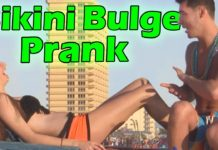 Bikini Bulge Prank (Spring Break Pranks)