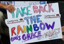 LA Count for Trump/ CA MassResistance Marches in LA Gay Pride Parade