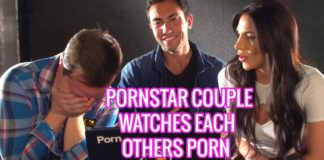 PORNSTAR COUPLE REACTS TO EACH OTHERS PORN