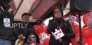 Poland: Anti-LGBT groups protest against first pride parade in Gniezno