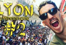 #2 : LYON // GAYPRIDE TOUR - THE FLOOR IS LAVA !!