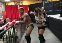 Lacey Lane vs Lio Rush