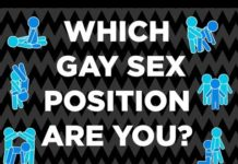 Which Gay Sex Position Are You?