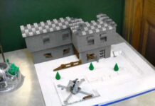 Unfinished Lego ww2 Battle of the Bulge