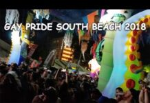 Miami Beach Gay Pride Festival on South Beach
