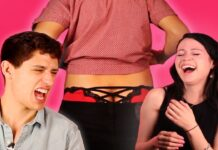 Boyfriends Try Their Girlfriends' Underwear