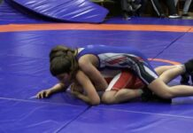 Girl vs.  Boy wrestling