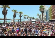 Tens of thousands party for Gay Pride in Tel Aviv