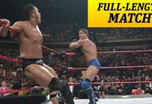 FULL-LENGTH MATCH - Raw - Ken Shamrock vs. The Rock - Intercontinental Title Match