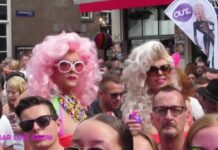 GAY PRIDE AMSTERDAM 2015 STREET PARTY