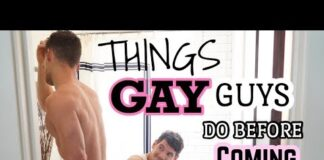 THINGS GAY GUYS DO BEFORE COMING OUT   INTERNALIZED HOMOPHOBIA   PJ & THOMAS